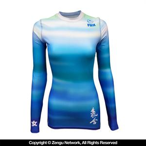 Fuji Haiku Women's Blue Rashguard